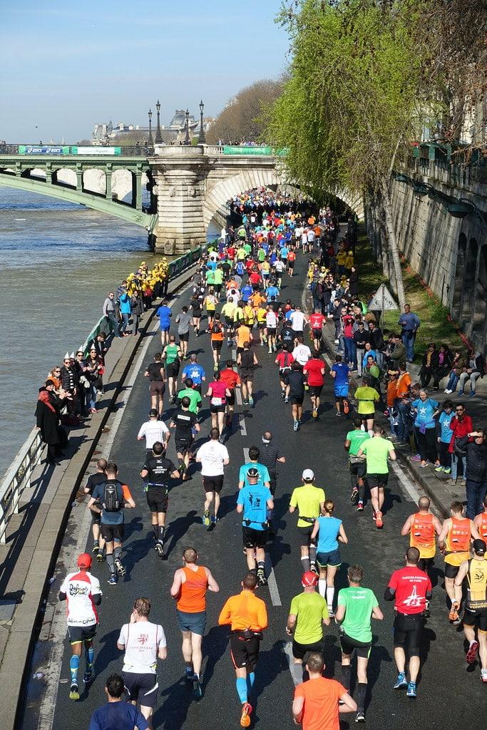 Le Marathon de Paris reporté