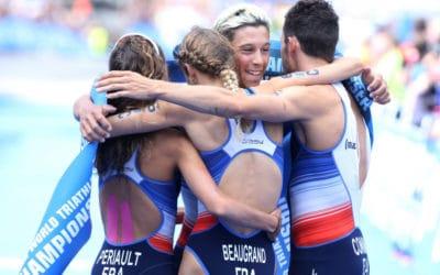 Triathlon : retour sur les exploits du relais mixte